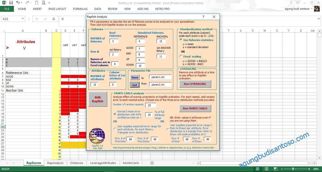 06-2 Multidimensional Scaling Part 3 statistik rapfish pertanian multidimensional scaling monte carlo MDS leveraging fisheries
