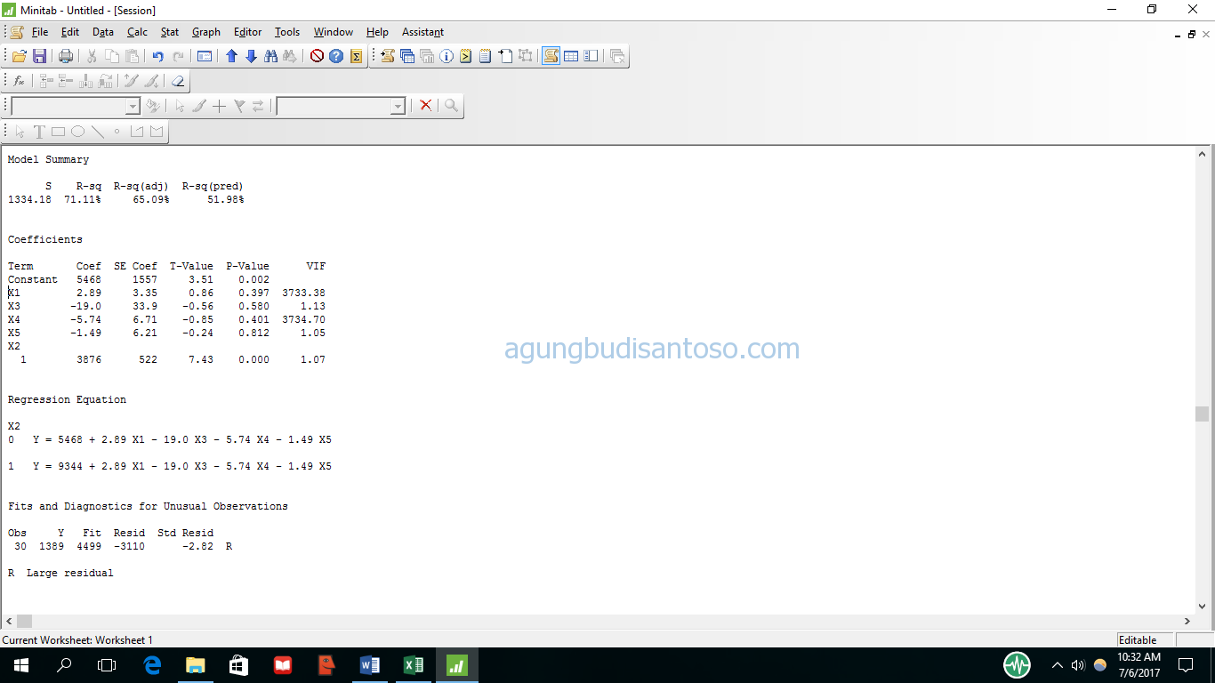 04 Mengenal Dummy Dalam Regresi variable dummy statistik regresi berganda regresi