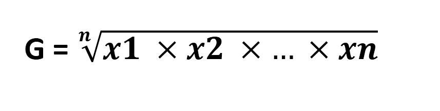 rata - rata geometrik