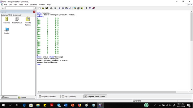 syntax RAL